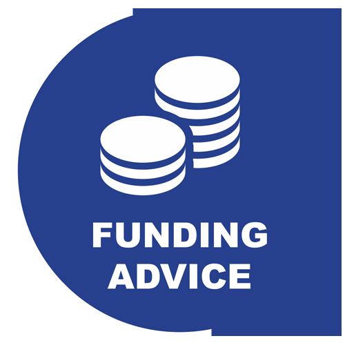 ICON - Blue - funding advice