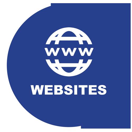 ICON - Blue - websites